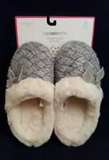 Women's Winter Soft Fuzzy Memory Foam Slippers House Bedroom Shoes Clogs Size S