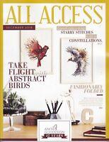 Anita Goodesign ALL ACCESS VIP Club DECEMBER 2018 Embroidery Design CD & BOOK