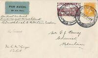 BC651) New Zealand 1931 1st Flight cover Invercargill – Auckland