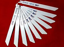 RECIPROCATING SAW BLADES BY BeA 190MM BI-METAL FOR METAL x 10