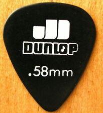 Vintage Guitar Pick .58mm Jim Dunlop Picks 1970's - His original celluloid picks