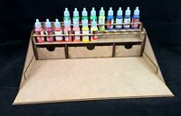 Hobby work station warhammer 40k vallejo warpaints paints rack storage wargames