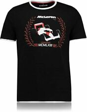 Official McLaren  1963 Collection Laurels  T-shirt Size L TAGS/PACKET