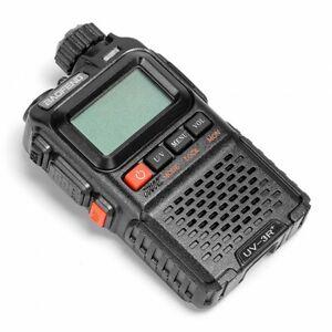 UK BaoFeng UV-3R Pro Dual Band VHF/UHF FM Two-Way Radio Transceiver