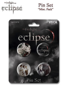 Pins & Badges--The Twilight Saga: Eclipse - Pin Set Of 4 Misc Pack