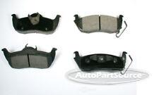 Disc Brake Pad Set-Ceramic Pads Rear Autopartsource CE1087