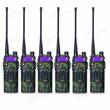 6pcs BaoFeng GN UV-5R Two Way Radio Transceiver + 3800mah Battery Walkie Talkie