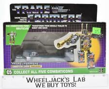 Onslaught Bruticus MIB 100% Complete B 1986 Vintage Hasbro G1 Transformers