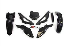 Racetech Plastics kit  BLACK. HUSQVARNA CR WR 125 2009-2013