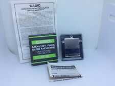 Vintage 1980s Casio RP-16 Memory Pack 16k Byte Ram Japan