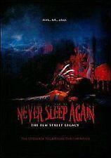 NEVER SLEEP AGAIN - THE ELM STREET LEGACY - DVD - REGION 2 UK