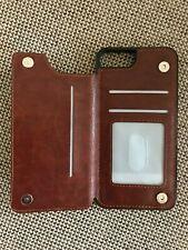 Handy Tasche Leder Schutz Hülle Flip Wallet Case Full Cover Etui Bumper