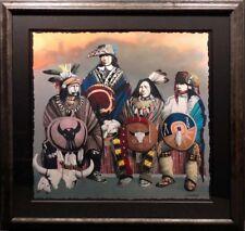 "J.D,Challenger""Roams the Plains No More""with custom frame Hand Signed Make Offer"