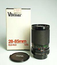 VIVITAR 28-85 / 3,5-4,5 Macro 1:5x   per Pentax K-A