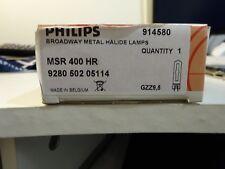 Lampe Philips MSR 400 HR GZZ9.5 6000K