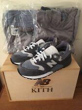 8b55c40087e4a New Balance Kith Ronnie Fieg ML999RF1 Sz 9 Grey Steel Blue Limit Wooden Box  New