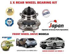 para Lexus rx200t RX450h 4x2 FWD 2009- > 1x Kit de rodamientos rueda trasera