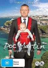 Doc Martin : SEASON 5 : NEW= 2  DVD SET= PAL 4 = SEALED = FREE POST