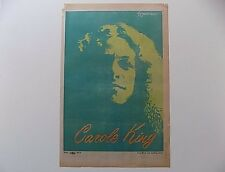 Rare Original Carole King Poster American composer and singer-songwriter