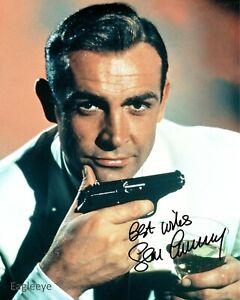 Sean Connery Autographed Signed 8 x 10 Photo James Bond 007 Premium Digital