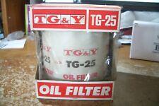 TG-Y/ TG-25 Engine Oil Filter - Spin-On Full Flow NOS