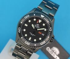 NWT ORIENT New Ray Raven FAA02003B Sporty Automatic 200M Diving Watch