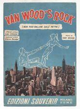 Spartito VAN WOOD'S ROCK Peter Van Wood Leo Chiosso 1956 Sheet music