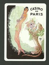 Josephine Baker Burlesque Dancer - JB Playing Card