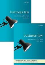 Business Law by James Marson, Katy Ferris (Multiple copy pack, 2016)