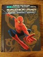 Spider-Man 1 2 3 Limited Edition 4K Ultra HD + Blu-ray No Digital Included
