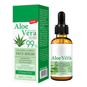Aloe Vera Gel Pure Hyaluronic Acid Serum Facial Moisturizing Skin Repair Essence