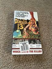 DEMENTIA 13 VHS HORROR NEW SEALED