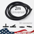Front Rear Windshield Wiper Washer Nozzle Hose Tube T Y Straight Pipe Connectors photo