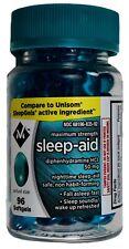 Member's Mark Maximum Strength Sleep Aid Diphenhydramine Liquid Filled Softgels