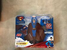 New 2006 Superman Returns Radio Control Flying Superman