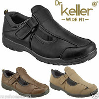 DR KELLER MENS WIDE FIT SANDALS LIGHTWEIGHT SUMMER CLOSED TOE CASUAL SMART SHOES