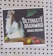 Nana Mizuki ULTIMATE DIAMOND CD+DVD LIMITED EDITION JAPAN LIKE NEW FREE SHIPPING
