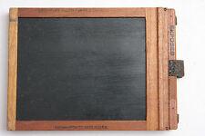 "1/4 Plate Film Glass Holder - 3.25 x 4.25"" Kodak #3 14x100x128mm OD - USED W016"