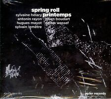 SYLVAINE HÉLARY  spring roll - printemps  / 2 CDs DIGIPACK