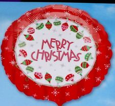 "18"" Natale Xmas Foil Balloon-Buon Natale Palline"