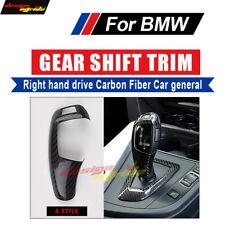 For BMW E39 E60 F10 F18 G30 G38 car Gear Shift Trim 520i 528i Right drive Carbon