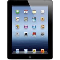 Apple iPad 3rd Generation 32GB Black, Wi-Fi + Cellular (Fully Unlocked) - Good