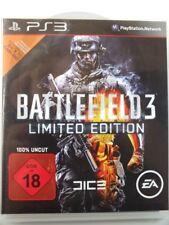 !!! PLAYSTATION PS3 SPIEL Battlefield 3 Limited Edition USK18, gebraucht GUT !!!