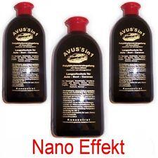 Avus 5 in 1 :>  3 Flaschen Versiegelung Autopolitur Lackreiniger,Lotuseffek,Nano