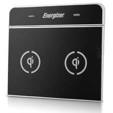 Energizer Qi Enabled Dual Inductive Charger Wireless Cell Phone Charging Pad Mat