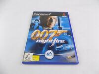 Mint Disc Playstation 2 Ps2 James Bond 007 NightFire Night Fire Free Postage