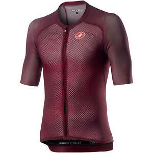 NEW 2020 Castelli CLIMBER'S 3.0 Lightweight Cycling Jersey, SANGRIA, XL