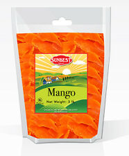 SUNBEST Dried Mango Slices 3 lbs in Resealable Bag (48 Oz)