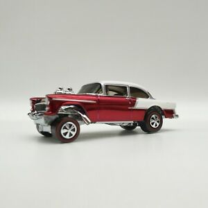 2016 Hot Wheels RLC Club Exclusive '55 Chevy Bel Air Gasser RED Gift Loose