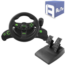 Gaming Lenkrad Vibration für PC PS3 USB + Getriebe, Pedale